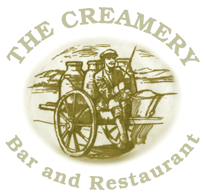 Creamery Bar & Restaurant, Bunratty, Co. Clare Logo